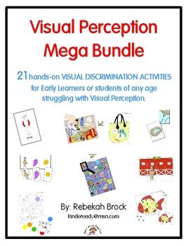 Visual Perception Mega Bundle: 21+ Print-and-Go Activities