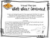 Visual Recipe for the Special Ed Classroom - Whole Wheat C