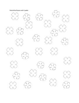 Visual Scanning: flowers