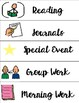 Visual Schedule Cards - Perfect for an Autism Classroom!