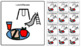 Visual Schedule Icons for Students with Autism - White Background