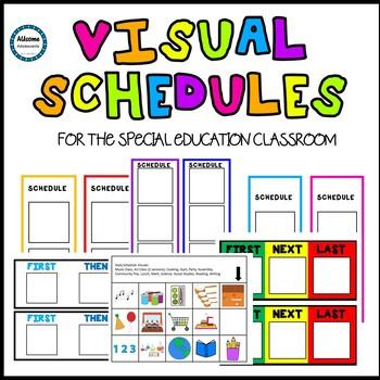 Visual Schedules- SPED/AUTISM