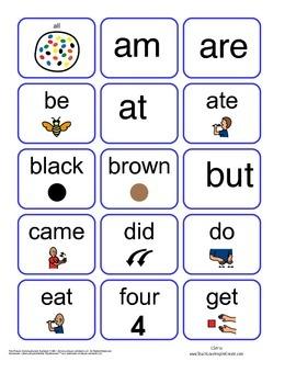 Visual Sight Words Primer