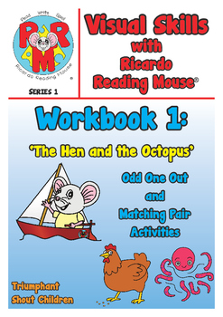 Visual Skills Series 1 Workbook 1:  Odd One Out & Matching