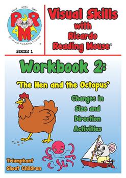 Visual Skills Series 1 Workbook 2: Changes in Size & Direc