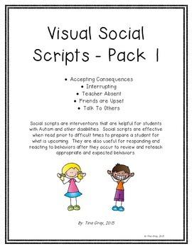 Visual Social Story Pack 1