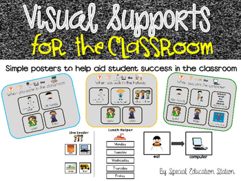 Visual Supports For The Classroom