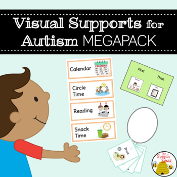 Visual Supports for Autism Megapack - Assists Behavior and