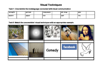 Visual Literacy and Film Techniques