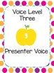 Visual Voice Level Chart