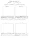 Visualization Activity for Chapter 4 of Adventures of Tom Sawyer