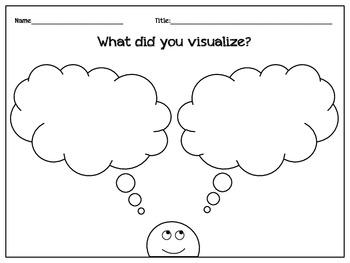 Visualization Worksheet {freebie}
