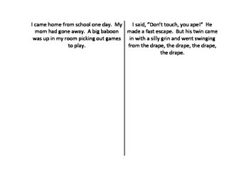 Visualizing a Story