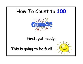 Visually learning how to count to 100