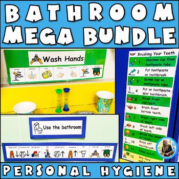 Bathroom Visuals MEGA Bundle: Autism, Aspergers, Potty Tra