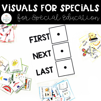 Visuals for Specials for Special Education