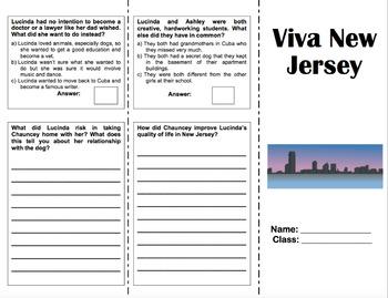 Viva New Jersey - 6th Grade Reading Street