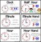 Vocab Cards - 1st Grade - Math - Time and Money