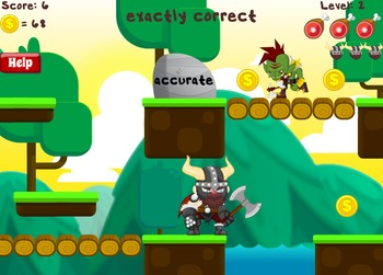 Vocab Vik - Vocabulary Game (Free at RoomRecess.com)