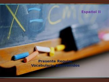 Vocabulario Bienvenidos Adjetivos e Interrogativas Adjecti