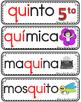 Vocabulario de la letra Qq consonante Q q Bilingual Stars