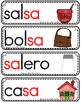 Vocabulario de la letra S s consonante Ss Bilingual Stars