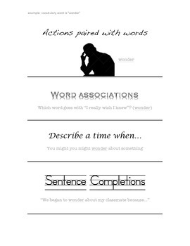 Vocabulary Acquisition Strategies Visual and Example