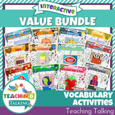 Vocabulary Activities - Value Bundle
