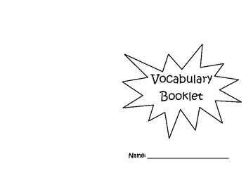 Vocabulary Book