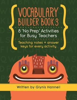 Vocabulary Builder Book 3