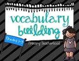 Vocabulary Building MegaPack!