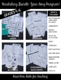 Vocabulary Bundle {Words, Activities, Organizers, Assessme