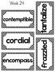 Vocabulary Bundle {Words, Activities, Organizers, Assessme