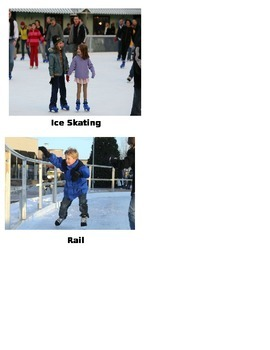 Vocabulary Cards Cam Jansen and the Ice Skate Mystery