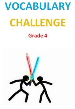 Vocabulary Challenge -- Grade 4