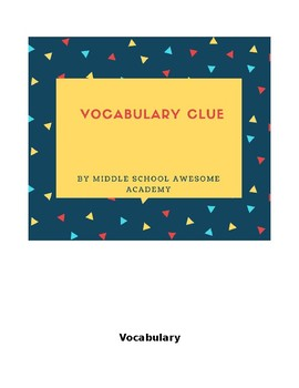 Vocabulary Clue