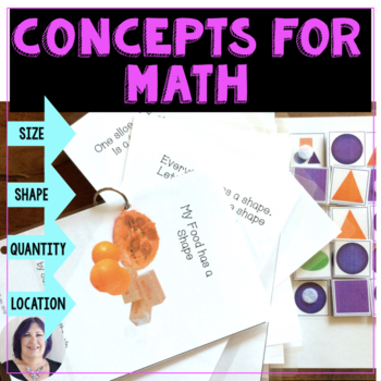 Vocabulary & Concepts for Math Differentiated for Special
