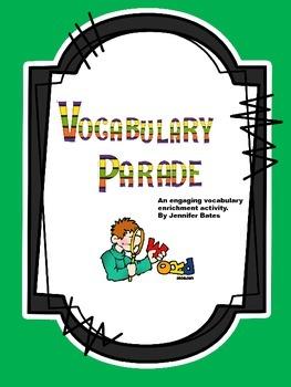 Vocabulary Costume Parade