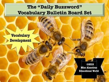 Vocabulary Development: The Daily Buzzword Literacy Center