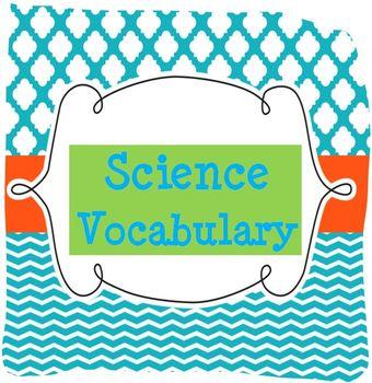 Vocabulary Display Headings
