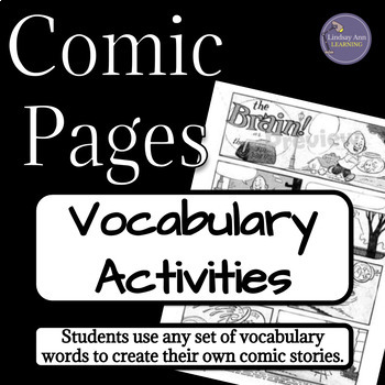 Building Vocabulary with Comics