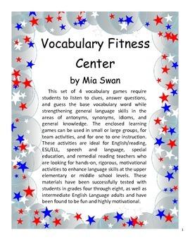 Vocabulary Fitness Center
