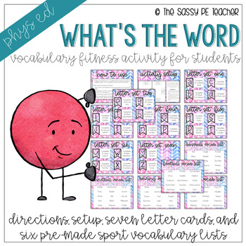 Vocabulary Fitness: What's the Word?