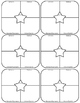 Vocabulary Frayer Model / Four Square (6 per page)