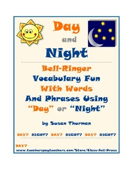 "Vocabulary Fun: Bell-Ringer Activity with ""Day"" and ""Night"