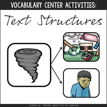Vocabulary Fun: Text Structures