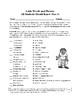 Vocabulary Fun: Latin--Scisne Latin? (Do You Know Latin?)