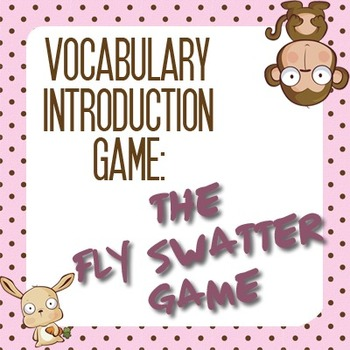 Vocabulary Games: Vocabulary Introduction, the Fun Way! (1)