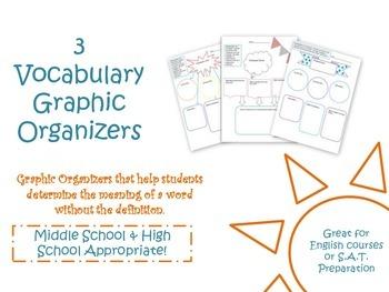 Vocabulary Graphic Organizers