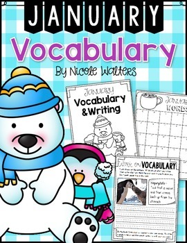 Vocabulary - January